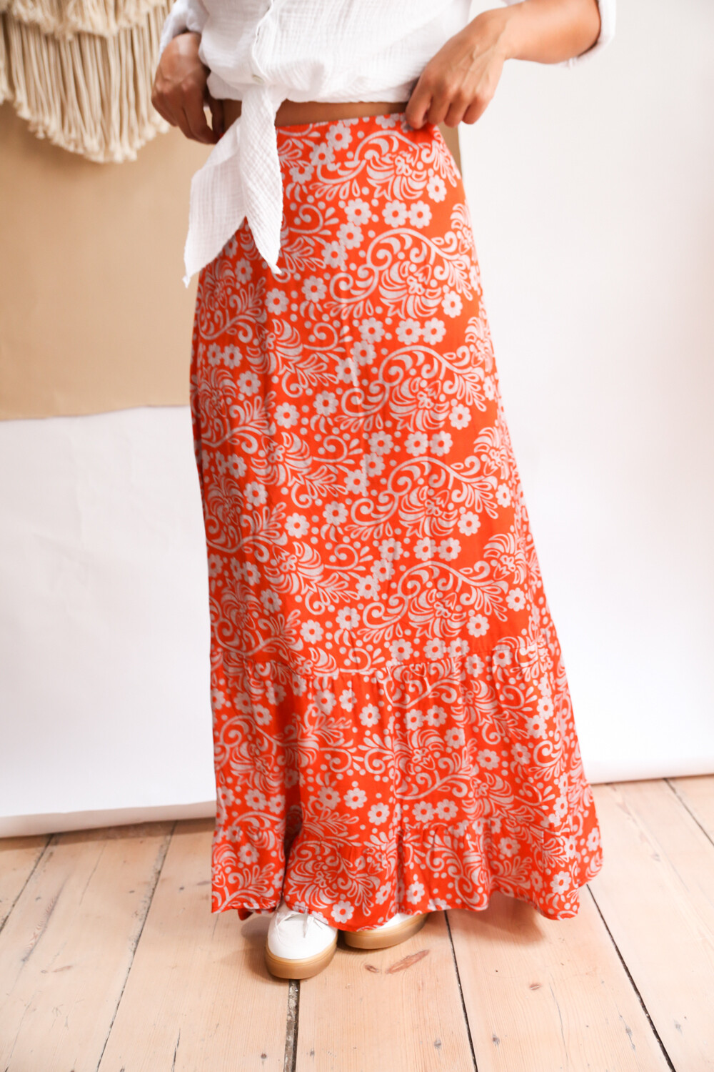 Skirt Choss Orange