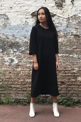Jogging Dress Fleur Black