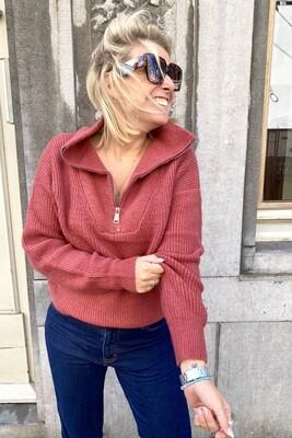 Sweater Lissy Brick Red