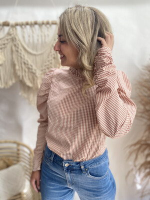 Blouse Vichy Pink