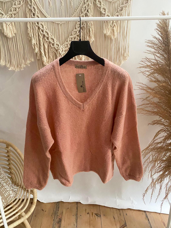 Lastra Sweater Soft Pink