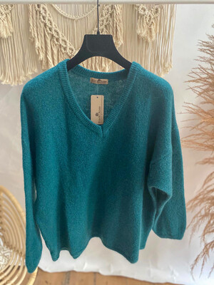 Lastra Sweater Dark Green