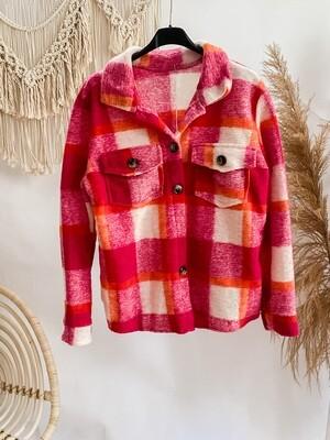 Short Jacket Mitty Hot Pink