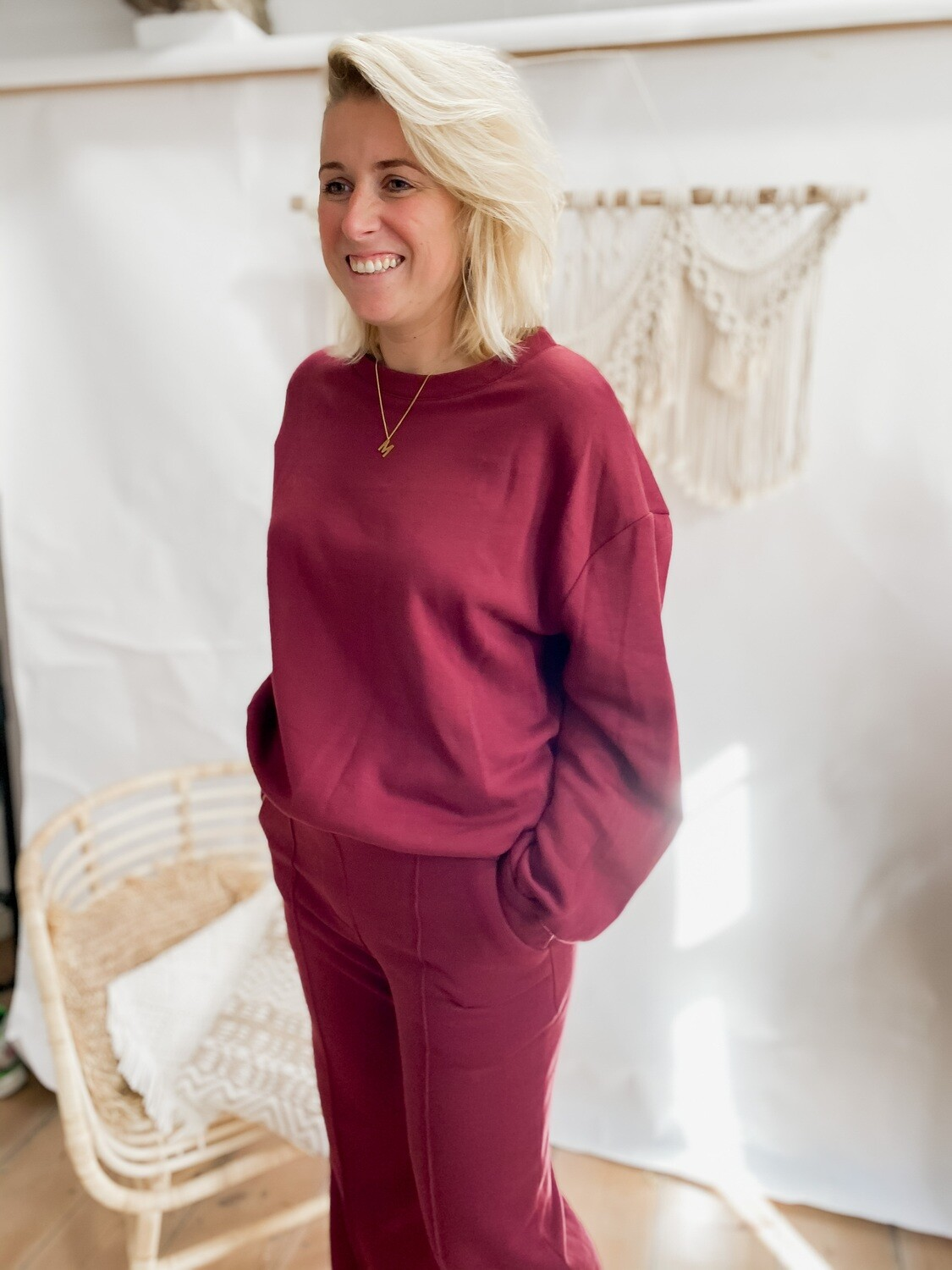 Sweater Lily Bordeaux