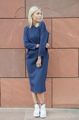 Jogging Dress Cassie Blue