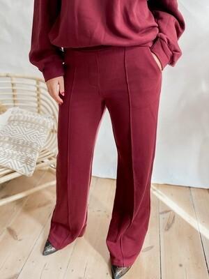 Sweatpants Lily Bordeaux
