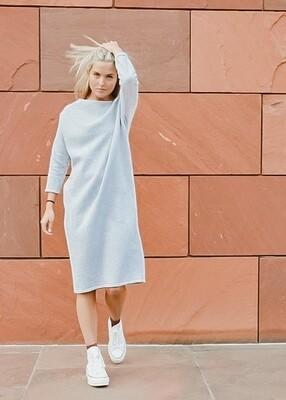 Jogging Dress Cassie Light Grey
