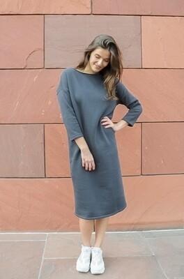 Jogging Dress Cassie Dark Grey