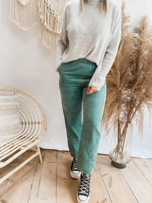 Pants Corduroy mint