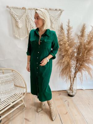Dress Lamou Dark green