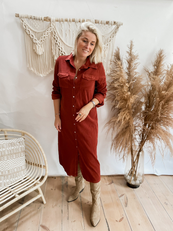 Dress Lamou Roest