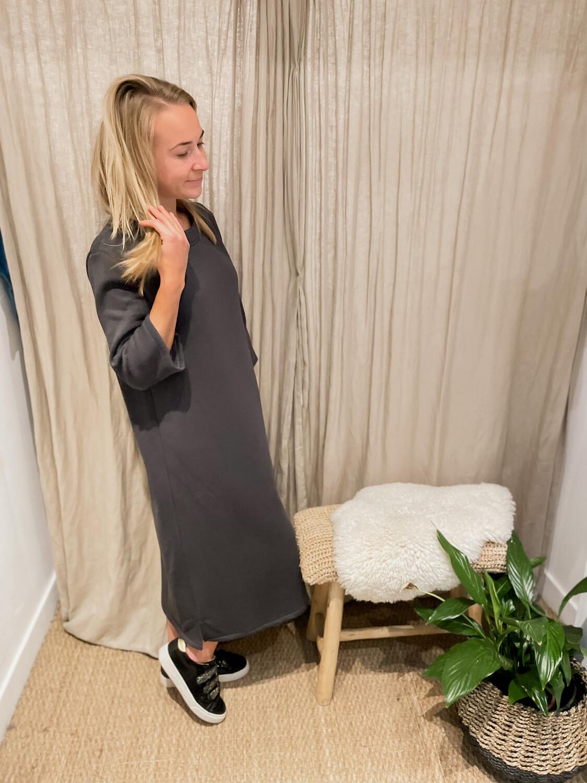 Laterca Dress Dark Grey