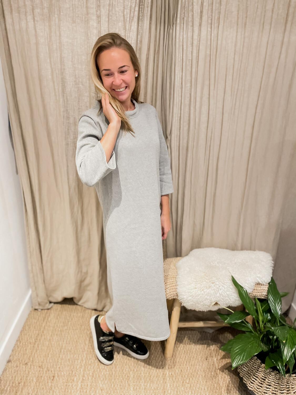 Laterca Dress Light Grey