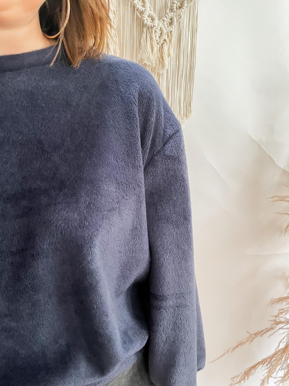 Sweater Teddy Dark Blue