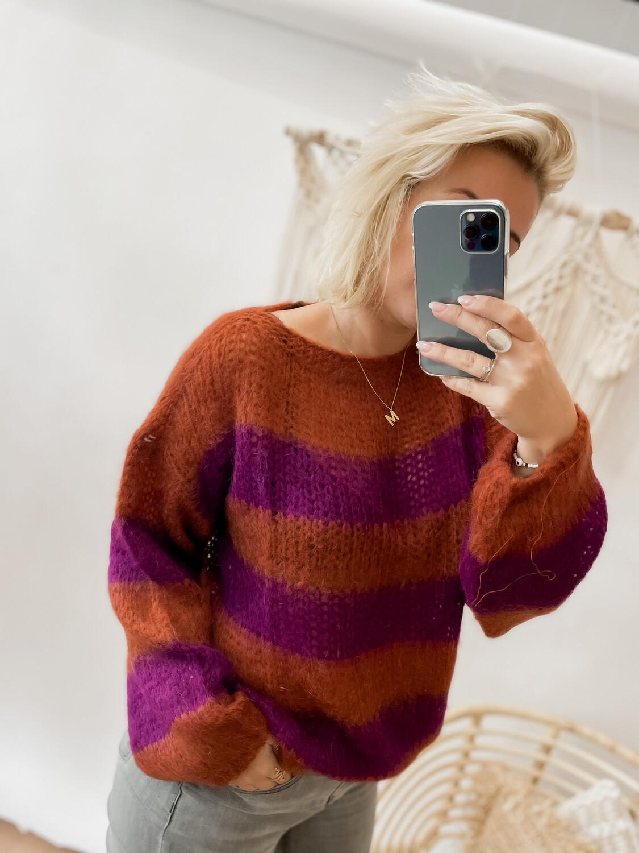 Sweater Irlanda purple