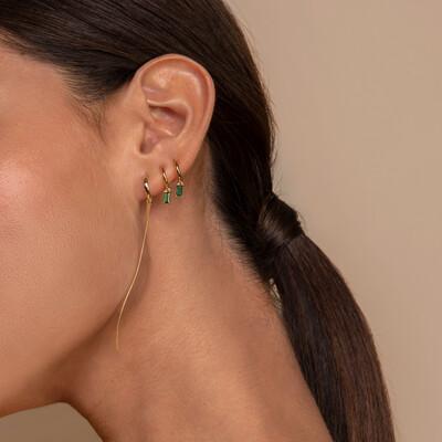 Balance Gold Earring