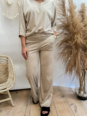 Velvet pants Bèige