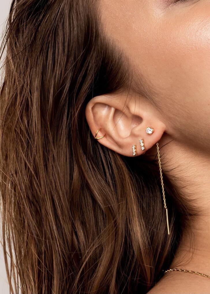Earring Gaia Gold