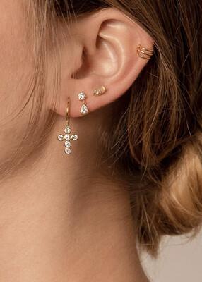 Perpetual Gold Earring