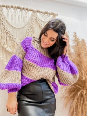 Sweater Magali Purple