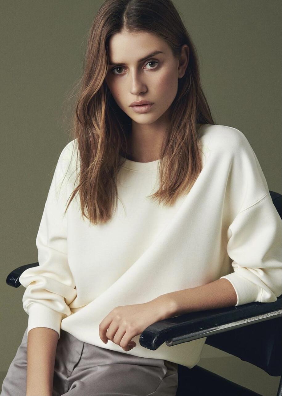 Ima Sweater White