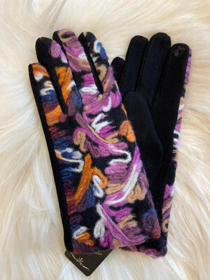 Gloves art Purple
