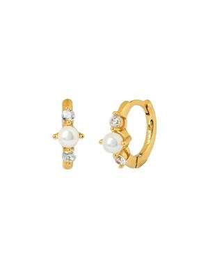 Minerva Gold Earring