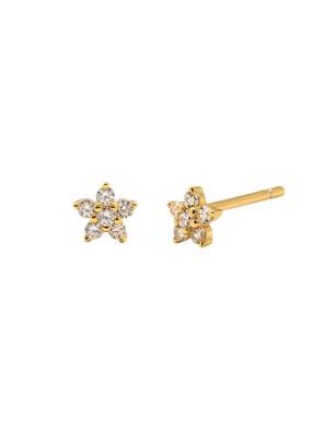 Jolie Gold Earring