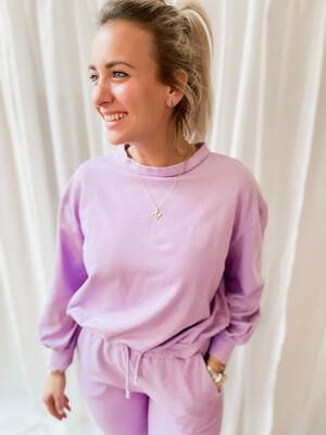 Sweater Cozy Lila