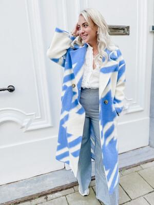 Coat Jules Blue
