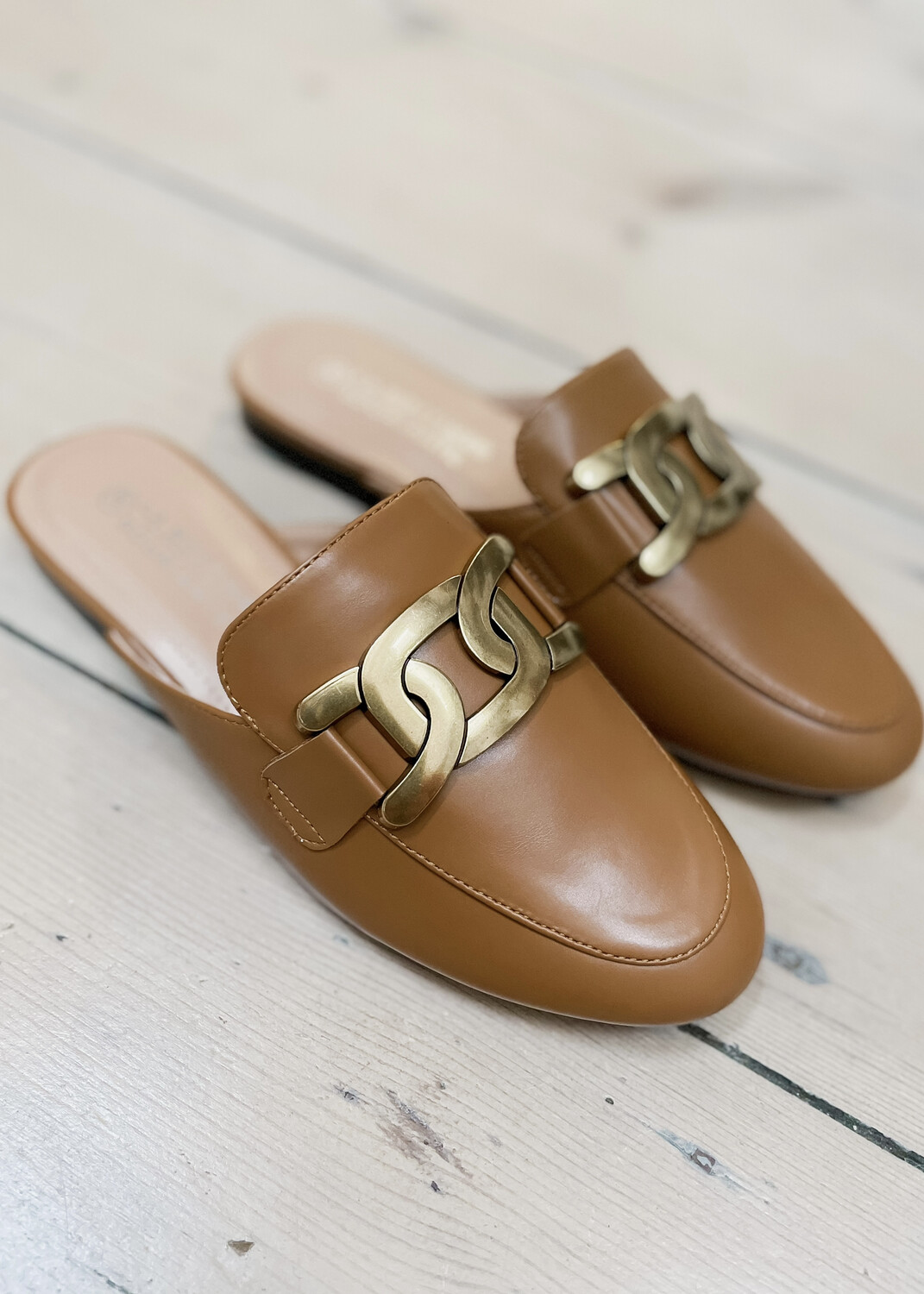 Loafers Camel