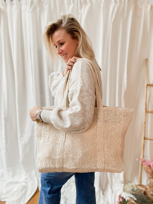 Shopper Elise Ecru