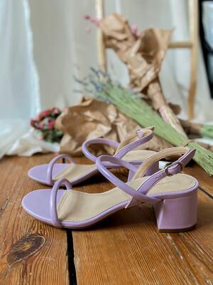 Minimalist sandal Lila
