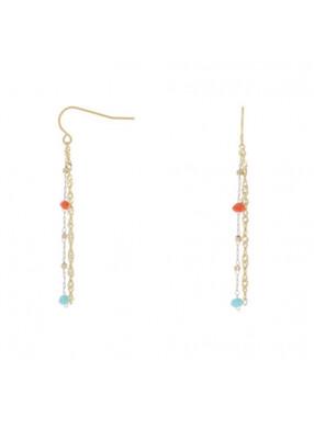 Earrings Drop Pearls