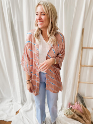 Kimono Ariella rose