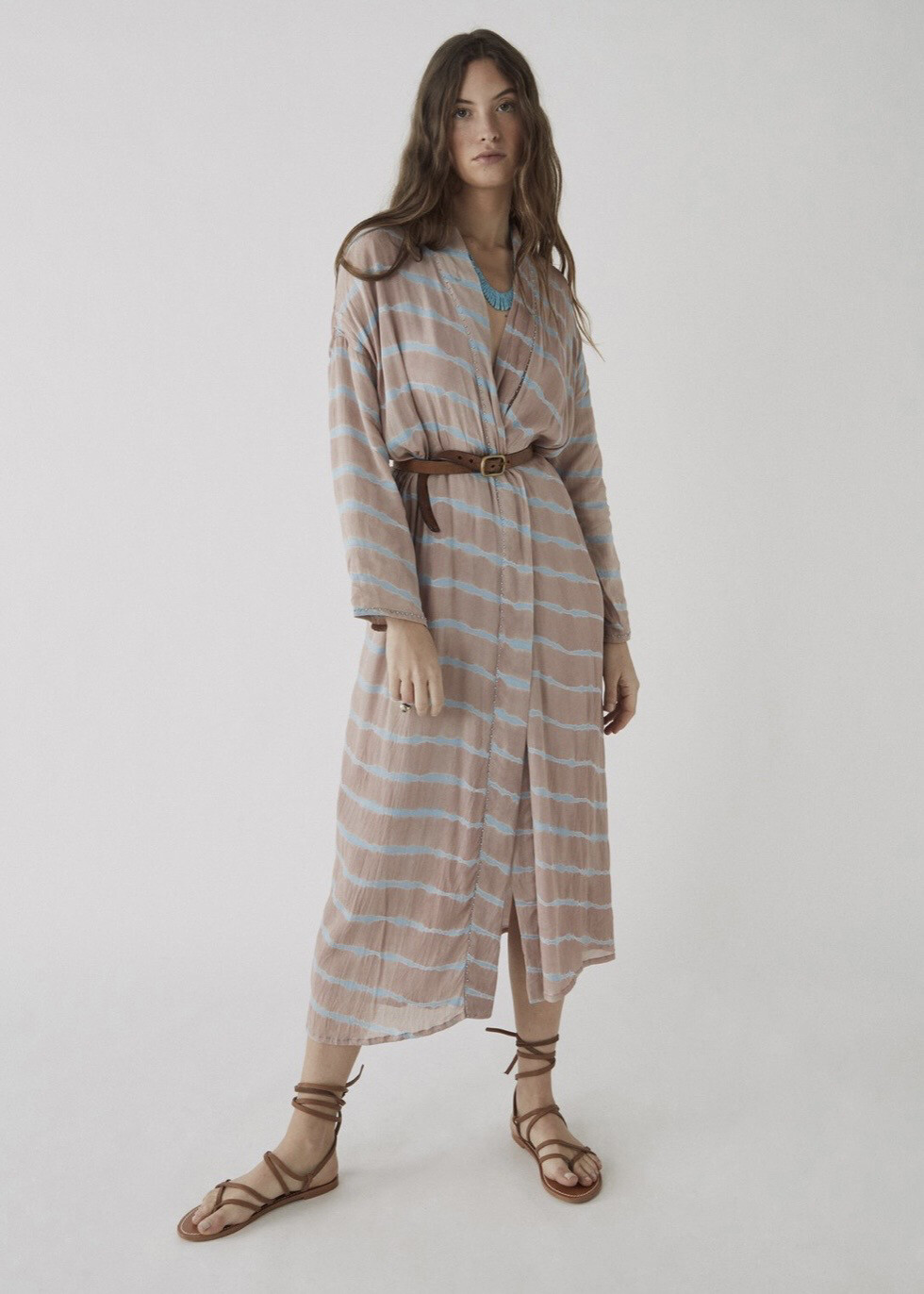 Kimono Elza rose