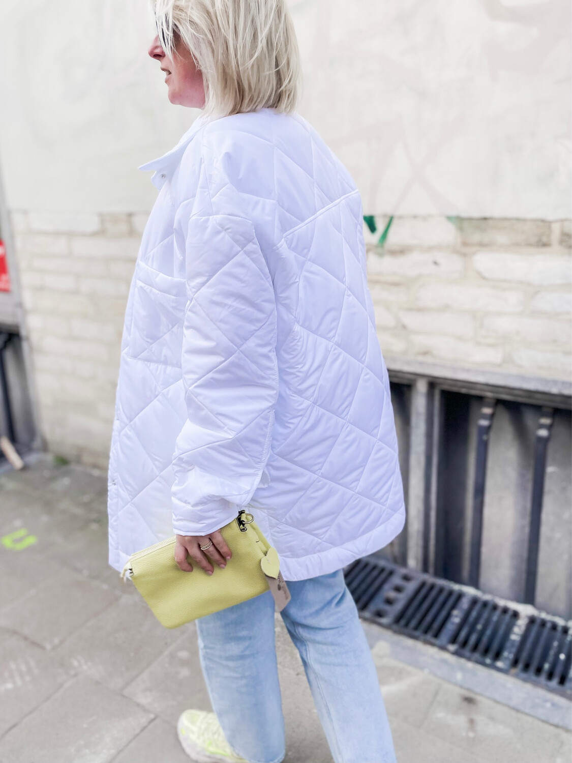 Jacket Luna White