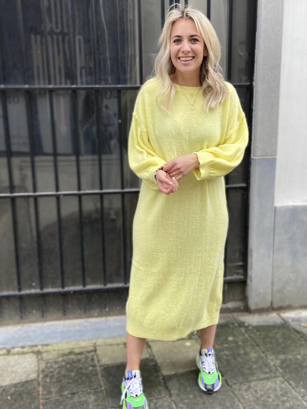 Dress XiXi Yellow