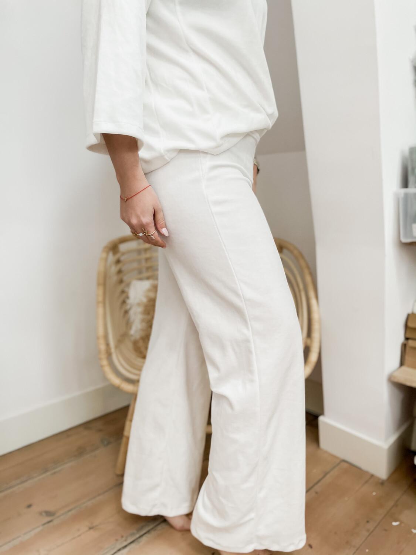 Pants éponge White