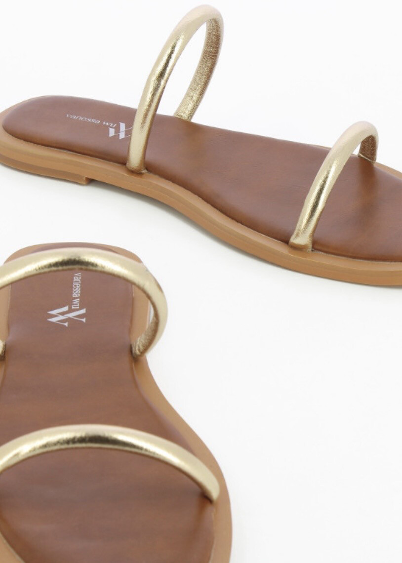 Sandal Louise Gold