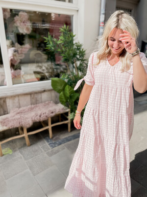 Dress Vichy Pink