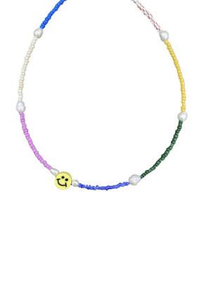Necklace Smiley Rainbow
