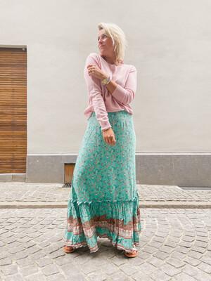 Skirt Summer green