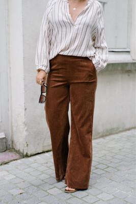 Charro pants brown