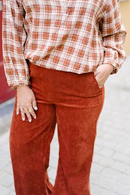 Charro pants Rust