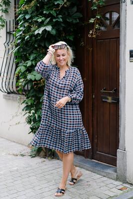 Dress Celest Checkered