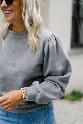Sweater Leasy Light Grey