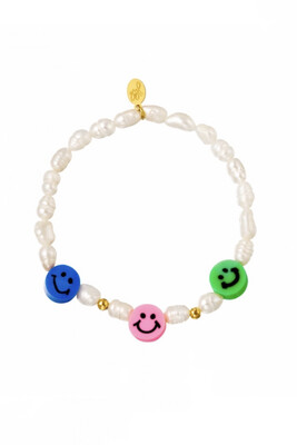 Bracelet Pearl Smiley