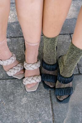 Glitter socks set