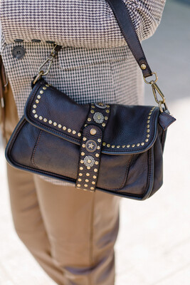 Handbag Lottie Dark brown